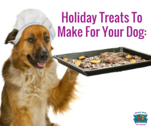 Holiday Treats To Make For Your Dog